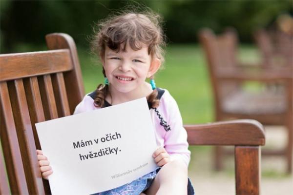 Sanaplasma ve Zlíně již potřetí upozorňuje na život dětí s Williamsovým syndromem